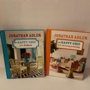 2 Jonathan Adler Books